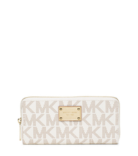 Jet Set Travel Continental Wallet - VANILLA - 32S12JSZ3B