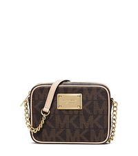 Jet Set Logo Crossbody - BROWN - 32F1GJSC1B