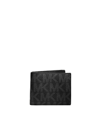 Jet Set Men's Logo Billfold Wallet - BLACK - 39F2MMNF1B
