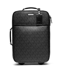 Jet Set Travel Logo Trolley Suitcase - BLACK - 33S3MMNV4B