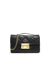Sloan Quilted Leather Small Messenger - ONE COLOR - 30H3GSLM1N