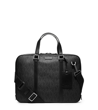 Jet Set Men's Logo Briefcase - ONE COLOR - 33S4MMNA2B