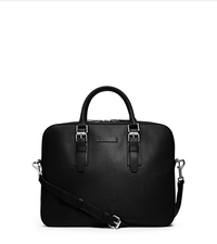 Bryant Pebbled-Leather Briefcase - ONE COLOR - 33S4SYTA2L