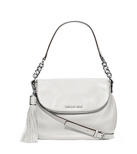 Bedford Leather Medium Shoulder Bag - Optic White - 30H3SWSL6L