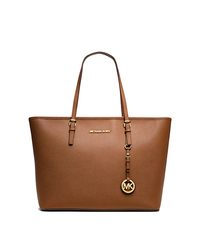 Jet Set Travel Saffiano Leather Tote - LUGGAGE - 30S4GTVT2L