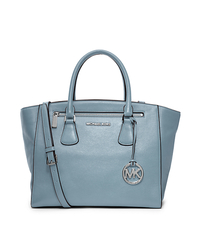 Sophie Large Leather Tote - SURF - 30S4SOHS3L
