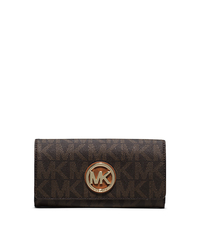 Logo Charm Wallet - BROWN - 32S4GFTE3B