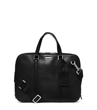 Warren Slim Leather Briefcase - ONE COLOR - 33S4MWRA2L