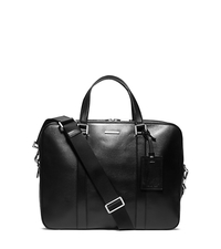 Warren Leather Briefcase - ONE COLOR - 33S4MWRA3L