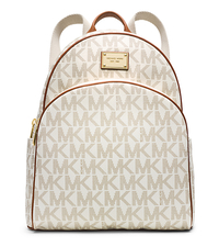 Jet Set Travel Logo Backpack - VANILLA - 30T4GTTB3B
