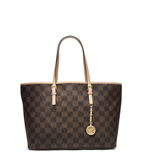 Jet Set Travel Logo Checkerboard Medium Tote - ONE COLOR - 30T4GTVT6I