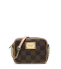 Jet Set Travel Logo Checkerboard Crossbody - ONE COLOR - 32T4GTTC1I