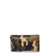 Bedford Camouflage Hair Calf Clutch - DUFFLE - 32F4GBFW3H