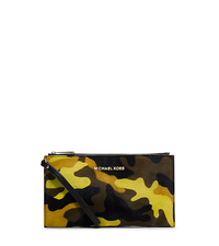 Bedford Camouflage Hair Calf Clutch - ACID YELLOW - 32F4GBFW3H
