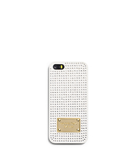 Pavé-Embellished Phone Case - ONE COLOR - 32F4GELL1P