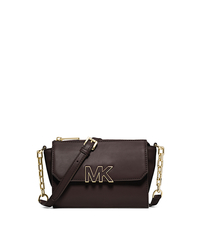 Florence Leather Mini Messenger - CHOCOLATE - 32F4GREC2L