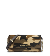 Jet Set Camouflage Hair Calf Chain Wallet - ONE COLOR - 32F4GTVC9H