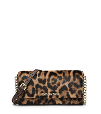 Jet Set Travel Leopard Hair Calf Chain Wallet - ONE COLOR - 32F4GTVC9O