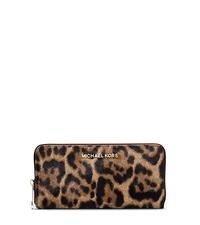 Jet Set Travel Leopard Hair Calf Wallet - ONE COLOR - 32F4GTVE3O