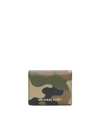 Jet Set Travel Camouflage Saffiano Leather Wallet - POPPY - Sold Out - 32F4GTVF2R