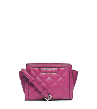 Selma Quilted Leather Mini Messenger - ONE COLOR - 32F4SLQC1L