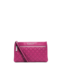 Selma Quilted-Leather Large Clutch - ONE COLOR - 32F4SLQW3L