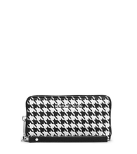 Jet Set Travel Houndstooth Saffiano Leather Phone Case - ONE COLOR - 32F4STVE7U