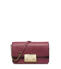 Sloan Saffiano Leather Crossbody - CLARET - 32H3GSLC6L