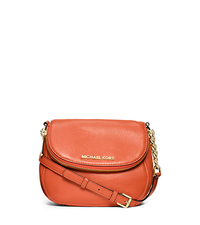 Bedford Saffiano Leather Crossbody - ORANGE - 32S4GBFC2L