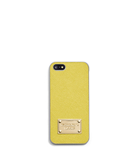 Saffiano Leather Phone Case For iPhone 5 - APPLE - 32S4GELL1L