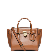 Hamilton Traveler Medium Leather Satchel - LUGGAGE - 30F4GHXS2L