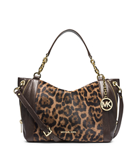 Stanthorpe Leopard Hair Calf Large Satchel - ONE COLOR - 30F4GSPS3H