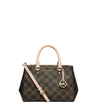 Sutton Logo Checkerboard Small Satchel - ONE COLOR - 30F4GSUS5I