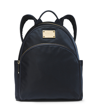 Jet Set Travel Nylon Small Backpack - NAVY - 30F4GTTB5C