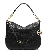 Shelley Studded Leather Shoulder Bag - ONE COLOR - 30F4GYSL3L
