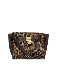 Hamilton Traveler Leopard Hair Calf Messenger - ONE COLOR - 30F4MHXM2H