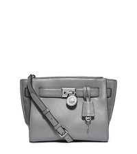 Hamilton Traveler Leather Messenger - HEATHER GREY - 30F4SHXM2L