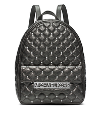 Kim Studded Metallic Leather Medium Backpack - ONE COLOR - 30F4SKMB6M