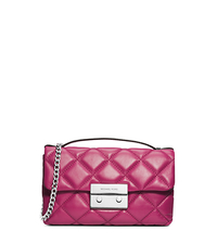 Sloan Quilted Leather Small Messenger - ONE COLOR - 30F4SSLM1N