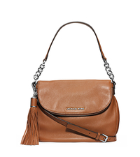 Bedford Leather Medium Shoulder Bag - LUGGAGE - 30H3SWSL6L