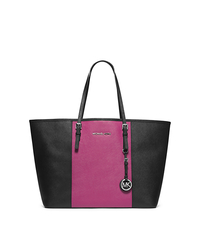 Jet Set Travel Color-BLock Medium Saffiano Leather Tote - ONE COLOR - 30T4SJTT2T