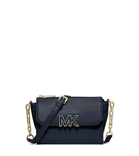 Florence Leather Mini Messenger - NAVY - 32F4GREC2L