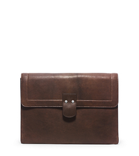 Wilder Vintage Leather Portfolio - BROWN - 33F4SIRN2L
