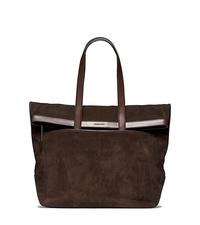 Conor Fold-Over Suede Tote - ONE COLOR - 33F4SNOT7S