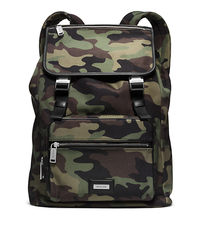 Windsor Camouflage Nylon Backpack - ONE COLOR - 33F4SWDB3R