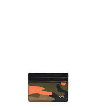 Jet Set Men's Camouflage Card Case - ONE COLOR - 39F3TMND1R