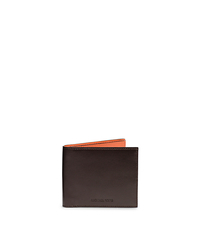 Jet Set Men's Two-Tone Leather Billfold - ONE COLOR - 39F4MMNF1T