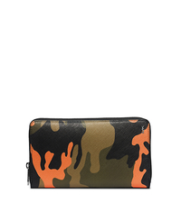 Jet Set Men's Camouflage Zip Wallet - POPPY - 39S4TMNZ7R