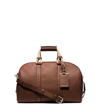Bennett Pebbled-Leather Duffel - LUGGAGE - 33S5SBTU2T