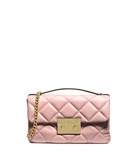 Sloan Quilted Leather Small Messenger - BLOSSOM - 30H3GSLM1N